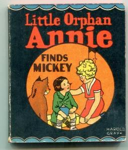 Little Orphan Annie Finds Mickey Wee Little Book 1934