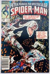 The Spectacular Spider-Man #90 NEWSSTAND(VF)(1984)