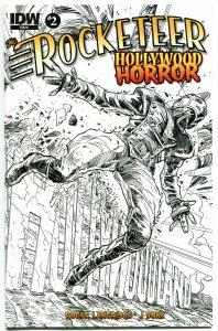 ROCKETEER HORROR #2, NM, Dave Stevens, Walter Simonson, Variant, 2013