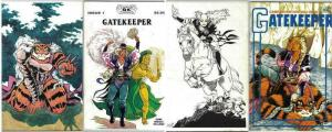 GATEKEEPER (1987-GK) 1-2  for Role Playing and D&D fans