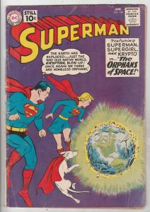 Superman #144 (Apr-61) VG+ Affordable-Grade Superman, Jimmy Olsen,Lois Lane, ...