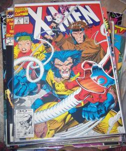 X Men  #4 (JAN 1992, Marvel) JUBILEE WOLVERINE  PSYLOCKE GAMBIT 1st OMEGA RED