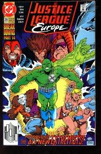 Justice League Europe #35 (1992)