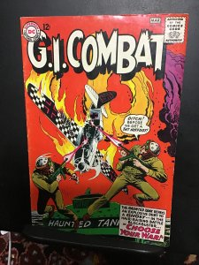 G.I. Combat #110 (1965) high-grade Joe Kubert haunted tank! VF Boca CERT.