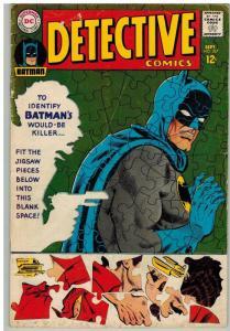DETECTIVE 367  GD+ Sept. 1967