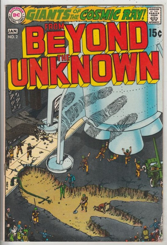 From Beyond the Unknown #2 (Jan-70) VF High-Grade