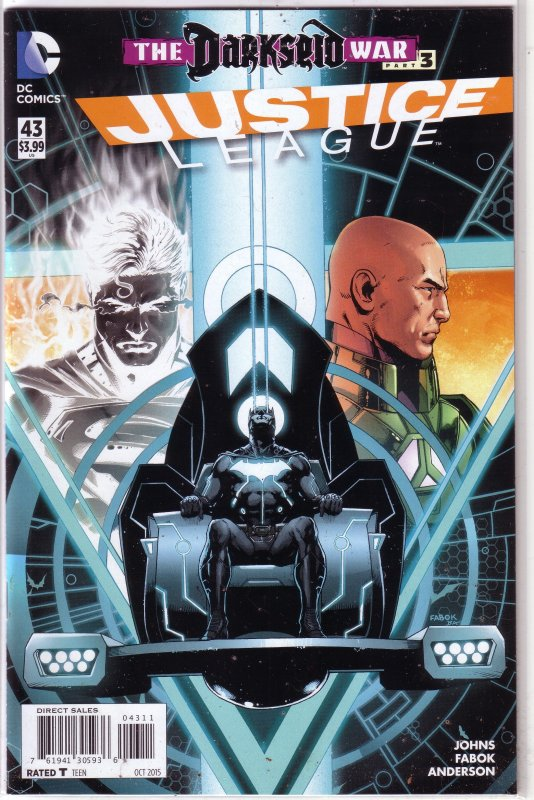 Justice League (vol. 2, 2011) # 43 FN (Darkseid War 3) Johns/Fabok, Mr. Miracle
