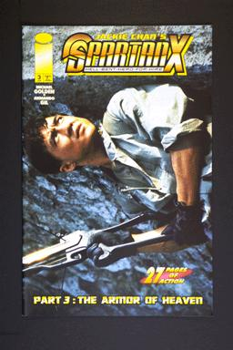Jackie Chan's SpartanX Hell-Bent-Hero-For-Hire #3 June 1998