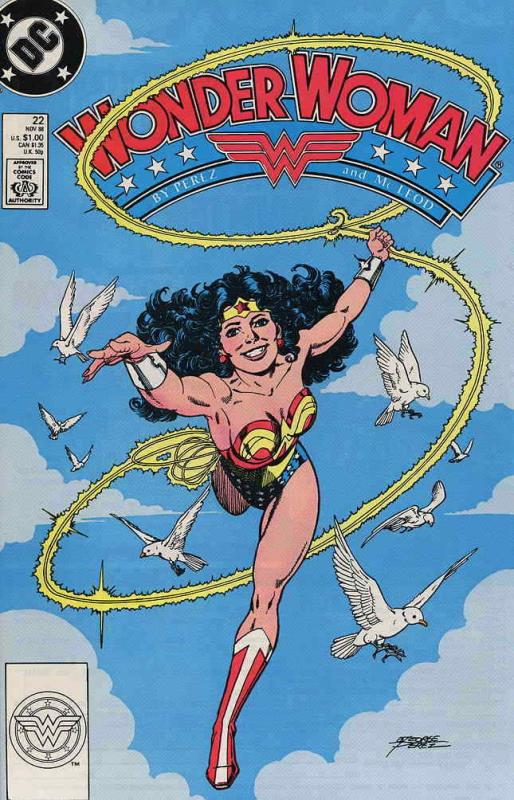 Wonder Woman (2nd Series) #22 VF/NM; DC | combined shipping available - details