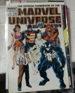 OFFICIAL HANDBOOK OF THE MARVEL UNIVERSE # 8 UPDATE 1999- MARVEL VENOM COVER