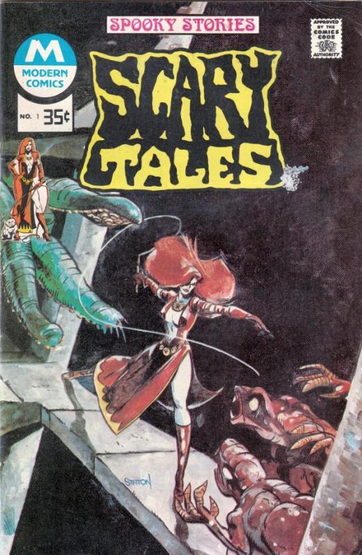 Scary Tales #1 (Jan-75) FN/VF+ High-Grade Vampires