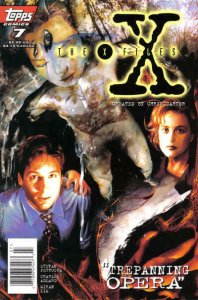 X-Files, The #7 (Newsstand) VF/NM; Topps   save on shipping - details inside