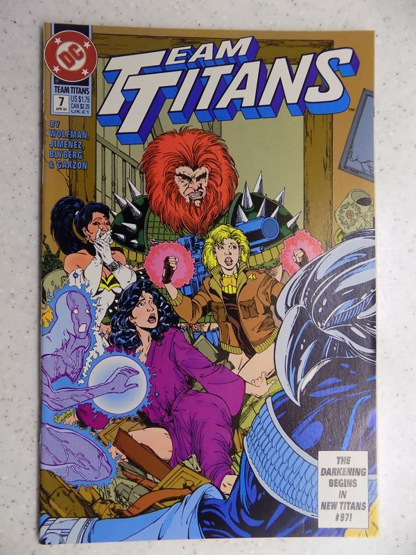 TEAM TITANS # 7