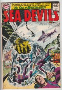 Sea Devils #11 (Jun-63) FN/VF Mid-High-Grade Sea Devils (Dane Dorrence, Biff ...