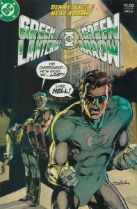 Green Lantern/Green Arrow #6 VF; DC | save on shipping - details inside