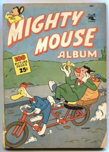 Mighty Mouse Album #1 1952- Rare 100 page golden age comic VG+