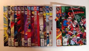 Adventures Of Superman 487 497 500-503 545-547 549 552 563-570 Near Mint Lot Set