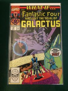 What If.... #15 The Fantastic Four Had Lost The Trial of Galactus?