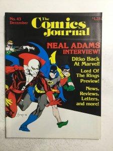 Comics Journal No.43 Magazine Near Mint Nm Fantagraphics