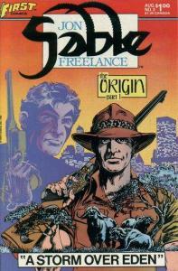 Jon Sable: Freelance #3, NM (Stock photo)