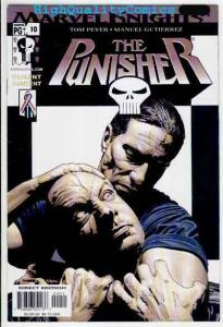 PUNISHER #10, Tim Bradstreet, NM+, 2001, Frank Castle, Blood