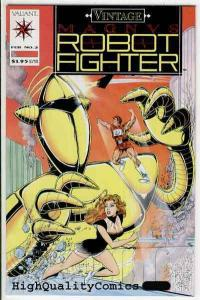 MAGNUS, ROBOT FIGHTER #2 (Vintage), NM,Valiant,Planet X