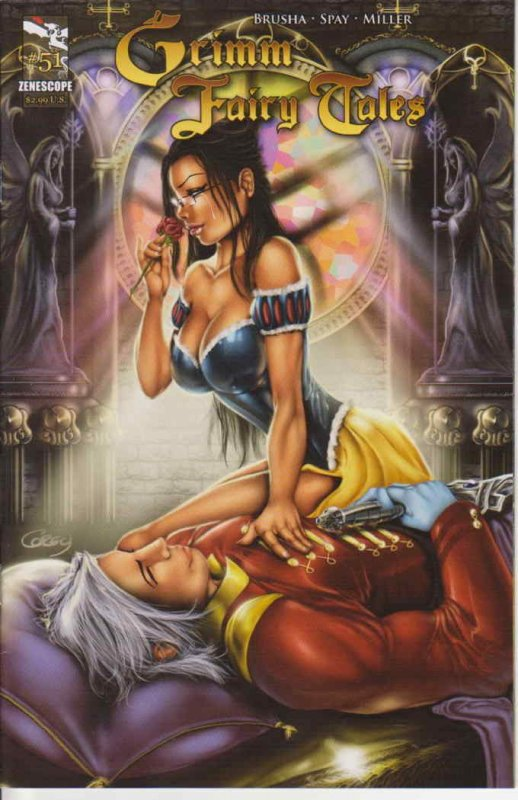 Grimm Fairy Tales #51A VF/NM; Zenescope | save on shipping - details inside