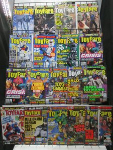 Toyfare Magazine Lot of 18Diff from #1-114 (Sep 1997 to Feb 2007) Wizard Toys