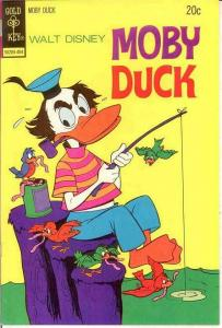 MOBY DUCK (1967-1978 GK DISNEY) 13 VF-NM Apr. 1974 COMICS BOOK