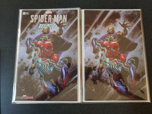 Spider-Man Velocity #1 Clayton Crain Virgin Variant Set