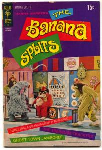 The Banana Splits #8 1971- Gold Key Comics-  Hanna Barbera VG