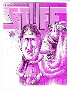 Stuff #12 VF/NM jabberwocky graphix BRAD W. FOSTER mini comix rare 1988 (#189)
