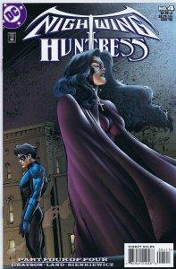 Nightwing and Huntress #4 ORIGINAL Vintage 1998 DC Comics GGA