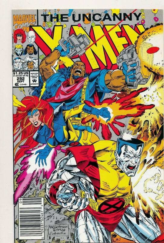 MARVEL Great LOT!!! UNCANNY X-MEN #288,291-293  VF/NM (PJ83)