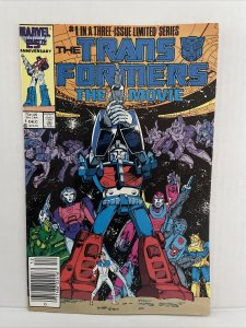 Transformers The Movie #1 Newsstand