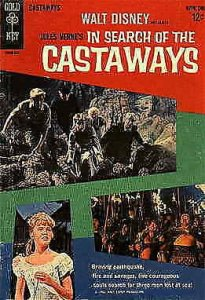 In Search of the Castaways #1 VG; Gold Key | low grade comic - save on shipping