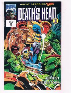 Death's Head 2 #3 VF Marvel Comics Comic Book X-Men Feb DE24