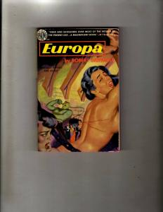 4 AVON Pocket Books Europa, Posed For Death, Babes Sucklings, The Big Sleep JL35