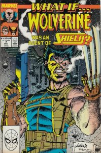 WHAT IF WOLVERINE WAS AN AGENT OF SHIELD/ #7 FN/VG   MARVEL COMICS