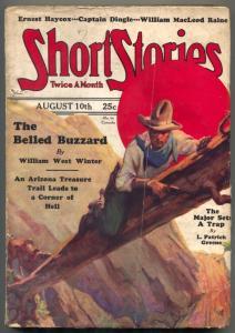 Short Stories Pulp August 10 1929- Belled Buzzard- Major Sets a Trap