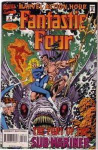Marvel Action Hour featuring the Fantastic Four #3 FN Cavalieri/Villagran