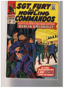 Sgt. Fury And His Howling Commandos # 35 Oct 1966
