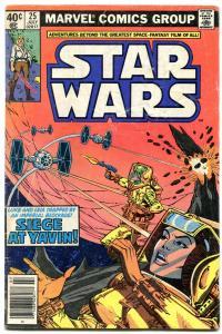 STAR WARS COMICS #25 1979-1st Baron Orman Tagge & Jorman Thoad