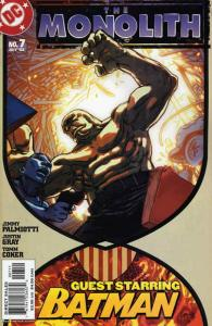 Monolith, The (DC) #7 VF/NM; DC | save on shipping - details inside