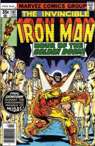 Iron Man (1st Series) #107 VF; Marvel | save on shipping - details inside