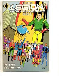 9 DC Comics Legion Index 1 3 + 0 + 307 + 42 41 40 39 + Legionnaires # 54 RJ10
