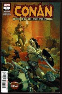 Conan the Barbarian #1  (Mar 2019, DC)  9.0 VF/NM