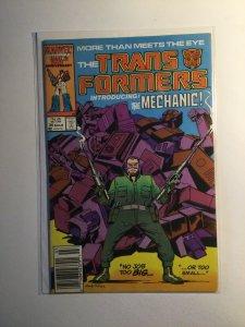 Transformers 26 Near mint nm Newsstand edition Marvel