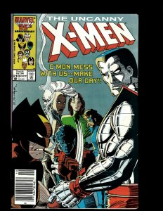 Uncanny X-Men # 210 VF/NM Marvel Comic Book Wolverine Sabretooth Storm Rogue GB4