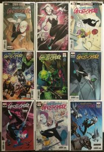 Ghost Spider 1 2 3 5 7 + Variants 9 Book Lot Spider Gwen